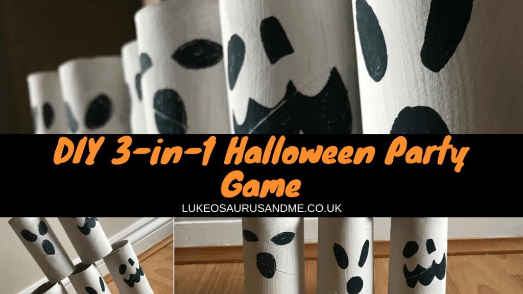 DIY 3-in-1 Halloween Party Game at https://lukeosaurusandme.co.uk