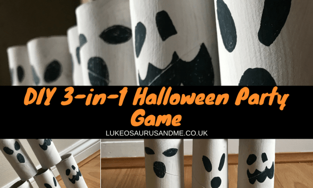 DIY 3-in-1 Halloween Party Game