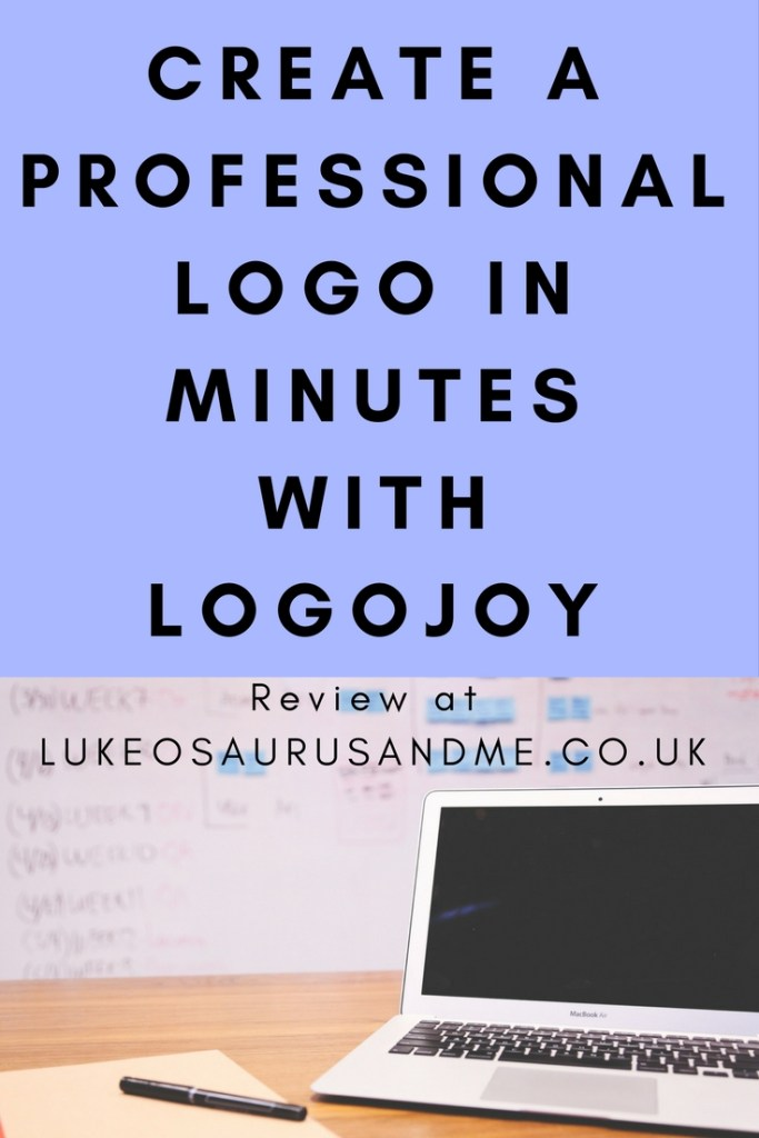 Create a professional logo in minutes with Logojoy. Full review at https://lukeosaurusandme.co.uk