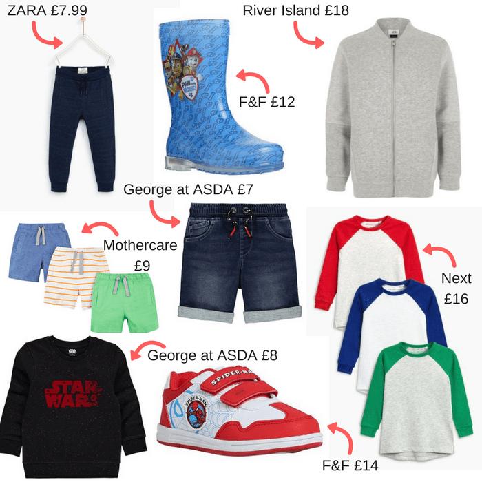 Boy's Spring/Summer Clothes Wishlist 2018 at https://lukeosaurusandme.co.uk