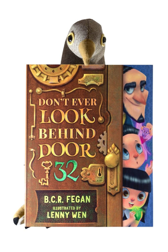 Don't Ever Look Behind Door 32 by B.C.R Fegan and Lenny Wen. Children's book review at http://lukeosaurusandme.co.uk
