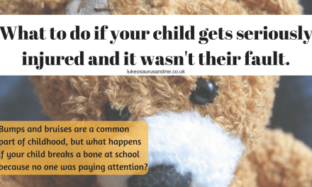 What to do if your child gets seriously injured and it wasn't their fault