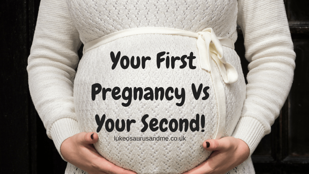 There are several differences between your first pregnancy and your second pregnancy. I've had a bit of a laugh and a joke with some other mum's about all the things that happen differently the second time around. https://lukeosaurusandme.co.uk