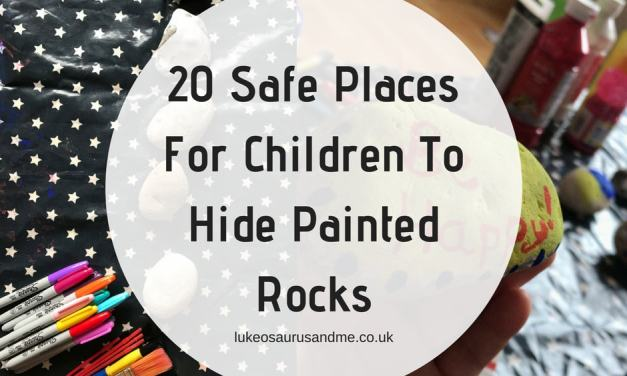 20 Safe Places For Children To Hide Painted Rocks