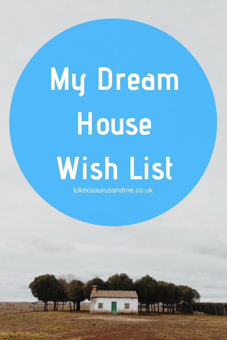 My dream house wish list, including a fancy new tv, Panasonic food blender, a pressure cooker and more at https://lukeosaurusandme.co.uk