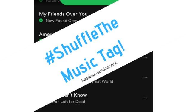 #ShuffleTheMusic Tag!