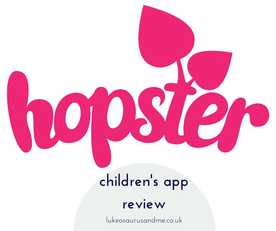 Hopster Children's TV, game and story app review at https://lukeosaurusandme.co.uk