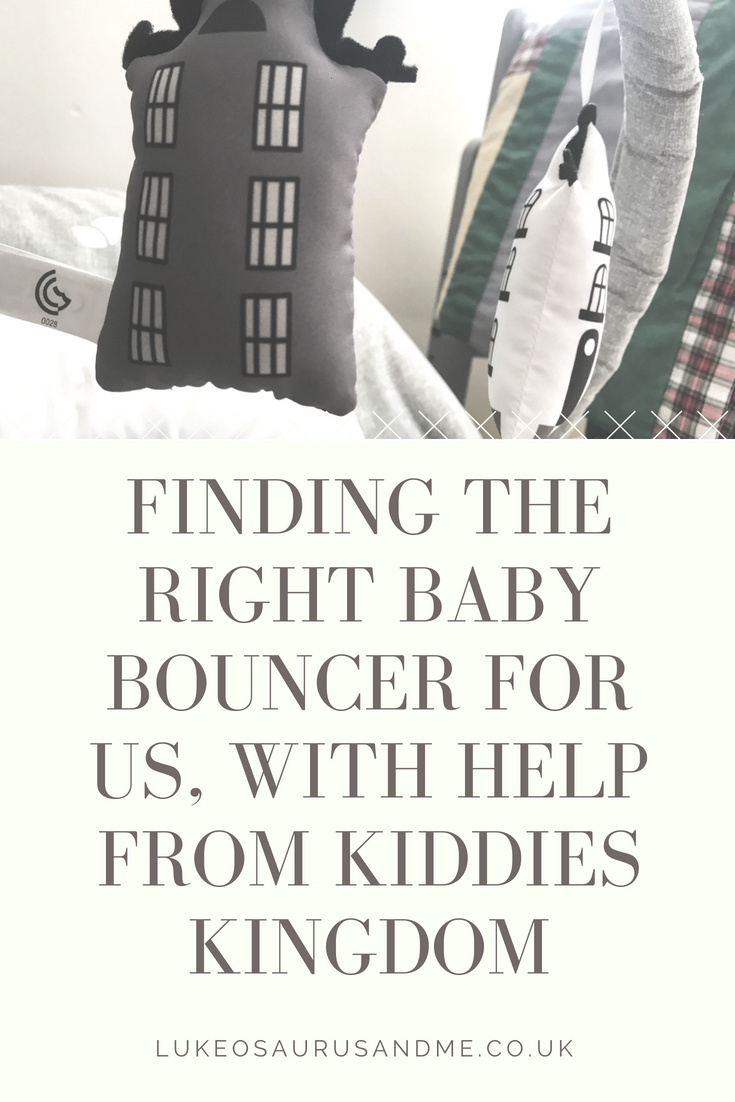 Kiddies Kingdom Baby Bouncer Range Joie Wish Petite City https://lukeosaurusandme.co.uk