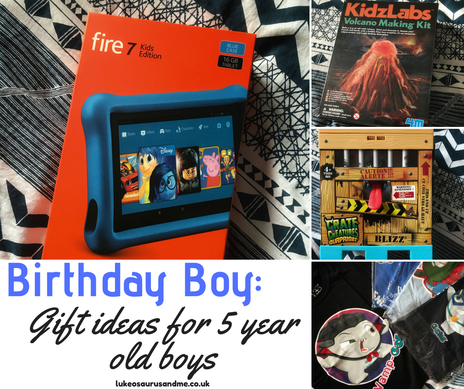 Birthday Boy Gift Guide For 5 Year Old Boys