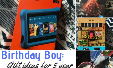 Birthday Boy: Gift Guide For 5 Year Old Boys