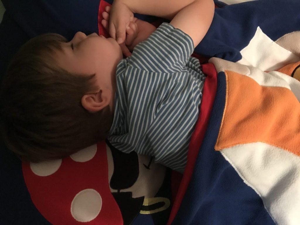 Snuggle Sac from Room To Grow review at https://lukeosaurusandme.co.uk
