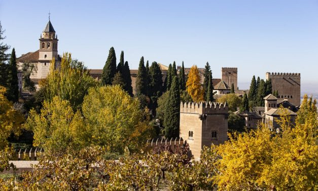 Travelling to and visiting the Alhambra in Granada Province, Spain