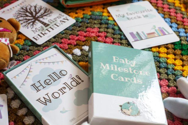 Nested Fox Milestone Card Gift Set review at https://lukeosaurusandme.co.uk