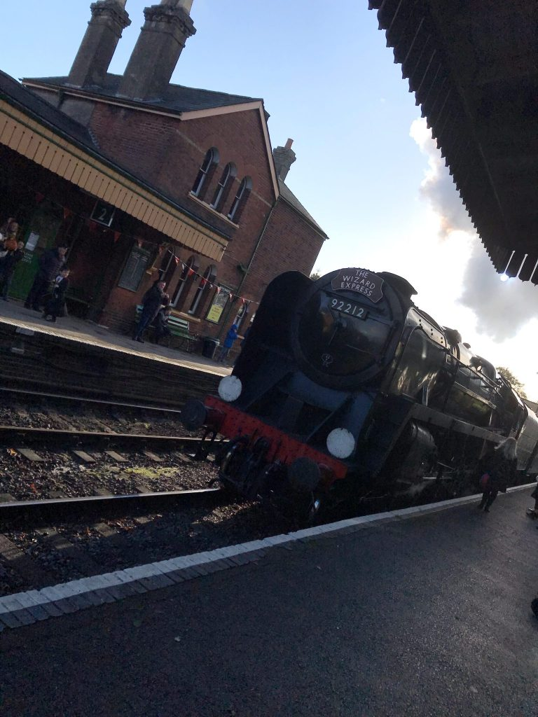 Day Out: Wizard Weekend At The Watercress Line at https://lukeosaurusandme.co.uk