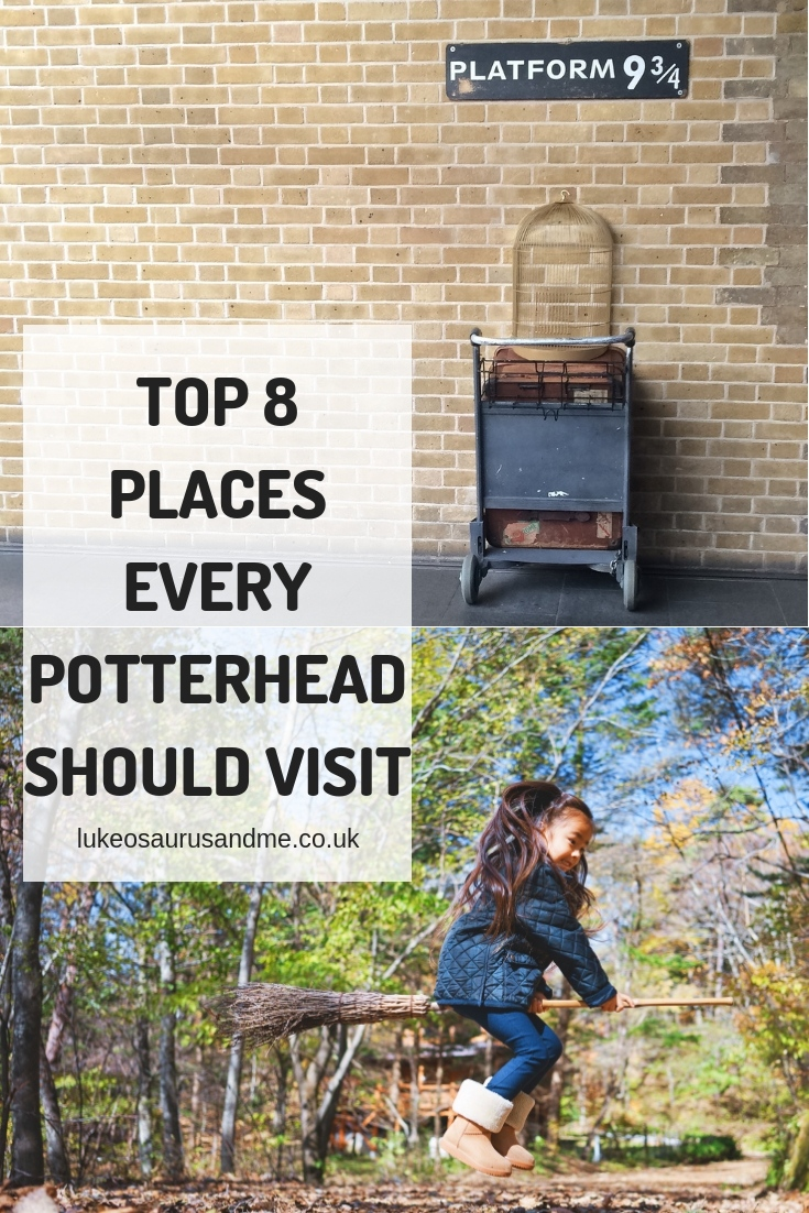 Top 8 places every Potterhead should visit at https://lukeosaurusandme.co.uk