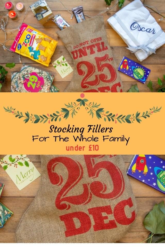 Stocking Fillers For The Whole Family - Under £10 at https://lukeosaurusandme.co.uk