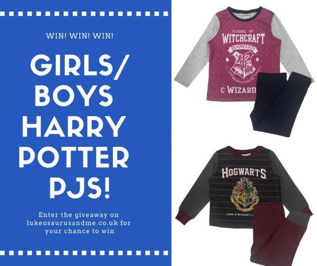 Cool Clobber Harry Potter PJ giveaway at htps://lukeosaurusandme.co.uk