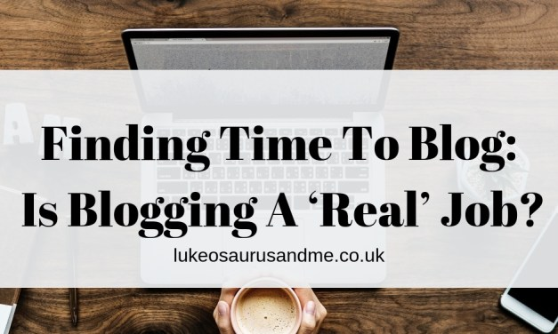 Finding Time To Blog: Is Blogging A 'Real' Job?