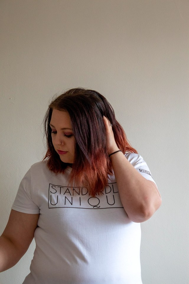 Future Poet 'Standardly Unique' t-shirt and review at https://lukeosaurusandme.co.uk