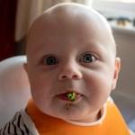 Baby led weaning journey at 9 months - https://lukeosaurusandme.co.uk