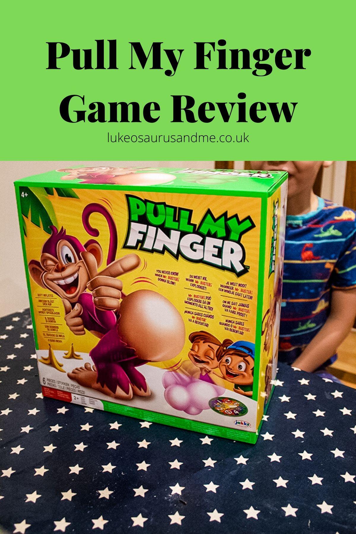 Pull My Finger box.