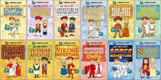 Mysteries In Time subscription story books.