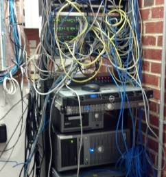 from a rats nest into a server closet how we cleaned up a major wiring diagram cluster mess wiring [ 1840 x 3264 Pixel ]