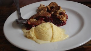 Nation of Shopkeepers Cherry Pie with Vanilla Ice -Cream