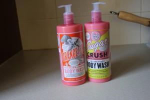 Soap and Glory Sugar Crush and Orangeasm Body Wash