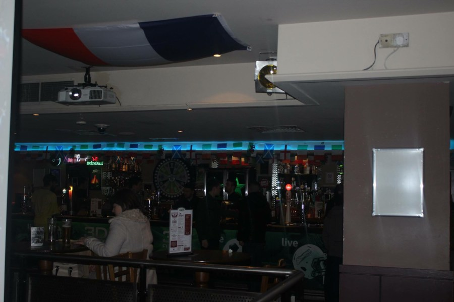 Shooters Sports Bar Bar Area