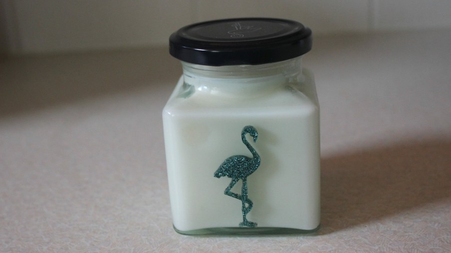 Flamingo Candles Mojitto Cocktail Classic Jar Candle