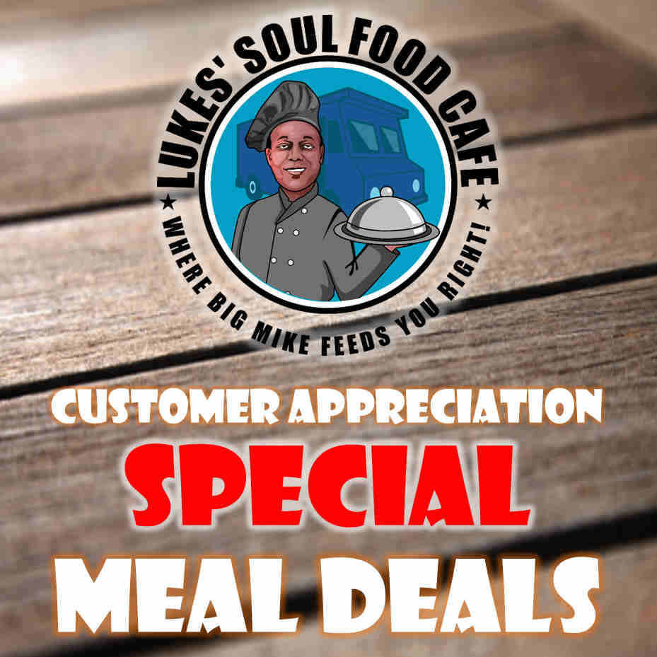 lukes soul food cafe coupon code
