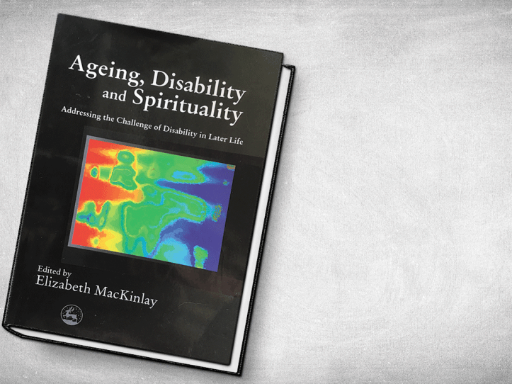 Cover of he book Ageing, Disability and Spirituality.