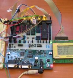 gm obd i aldl avr lcd interface pulling data off a 7730 8d ecu [ 1126 x 780 Pixel ]