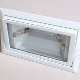 Metal halide RX7s bulb fixture housing - top