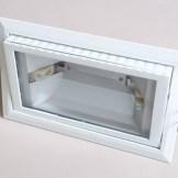 Metal halide RX7s bulb fixture housing - top