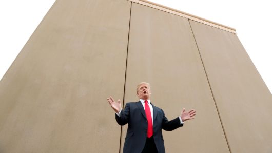 Why Republicans are paying the price because of Trump's wall