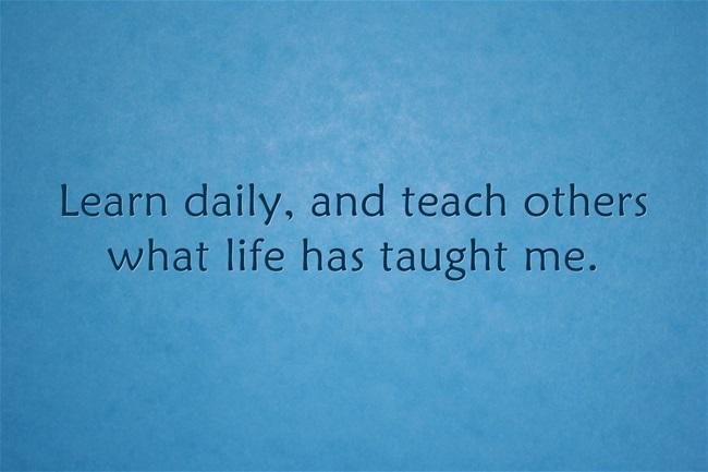 life philosophy