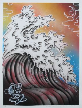 "West Coast Surf Team 18""x24"""