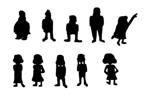Gravity Falls Character Thumbnails 2