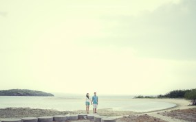 prewedding pantai