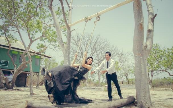 prewedding di ayunan