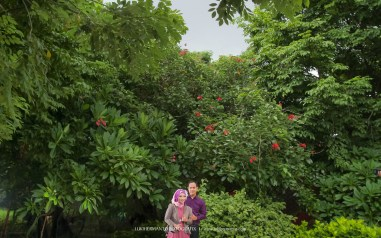Prewedding Muslim romantis