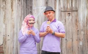 prewedding hijab lucu