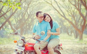 prewedding biker romantis