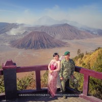 ANY + ARIFIN PREWED GUNUNG BROMO