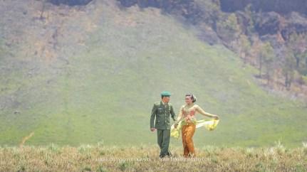 prewed gunung bromo seragam tentara