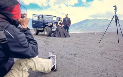 sesi foto prewedding di bromo LUKIHERMANTO