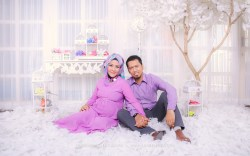 foto maternity ibu hamil muslim berhijab surabaya sidoarjo