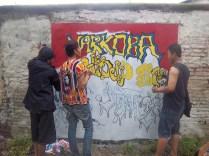 Gambar lukisan mural, grafiti atau lukisan dinding 034
